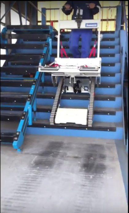 מעלון לכיסא גלגלים ממונע – מעלון TRE 52