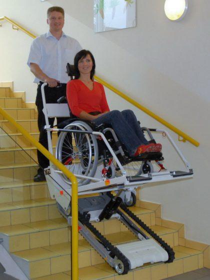 מעלון זחליל לכסא גלגלים