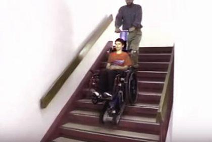 מעלון מדרגות לנכים – מעלון נייד לילדים